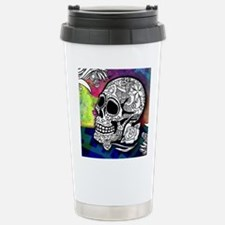 Sugar Skulls Color Spla Travel Mug