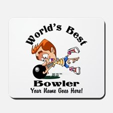 Worlds Best Bowler Mousepad