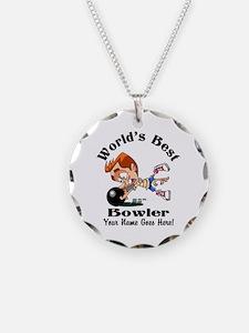 Worlds Best Bowler Necklace