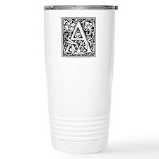 Cute Alphabet initials Travel Mug