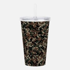 Military Action Acrylic Double-wall Tumbler