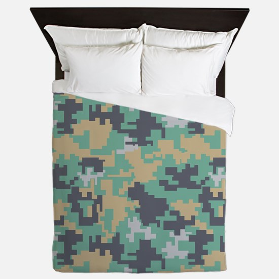 Pick A Pixel Queen Duvet