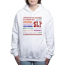 Cute Fonts Women's Hooded Sweatshirt