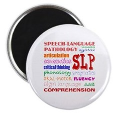 Funny Speech language pathologist Magnet