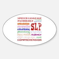 Cute Speech therapist Sticker (Oval)