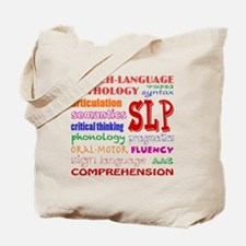 Funny Speech language pathology Tote Bag