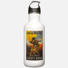 War Bonds Liberty They Water Bottle