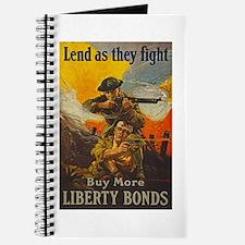 War Bonds Liberty They Fight WWI Propagand Journal