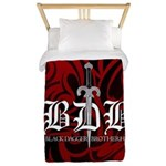 Bdb Red Twin Duvet Cover