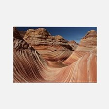 PETRIFIED SAND DUNES Rectangle Magnet