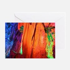 REED FLUTE CAVES 4 Greeting Card