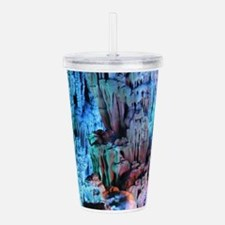 REED FLUTE CAVES 3 Acrylic Double-wall Tumbler