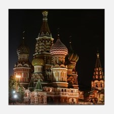 ST BASIL'S CATHEDRAL Tile Coaster