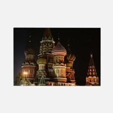 ST BASIL'S CATHEDRAL Rectangle Magnet