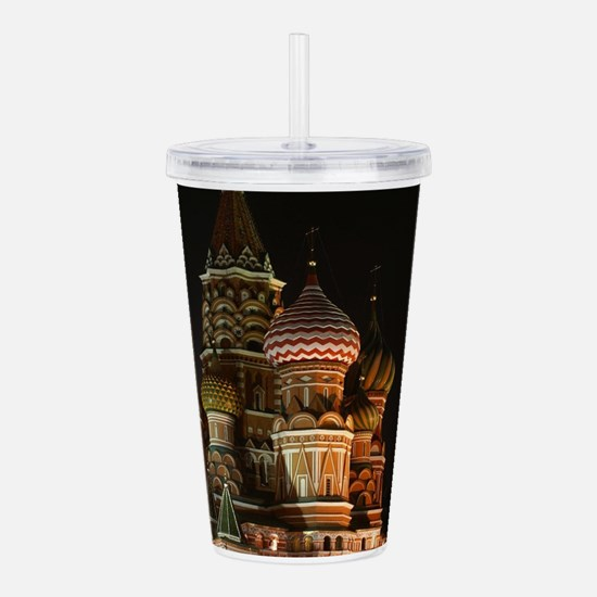 ST BASIL'S CATHEDRAL Acrylic Double-wall Tumbler