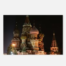 ST BASIL'S CATHEDRAL Postcards (Package of 8)
