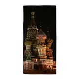 Moscow russia Beach Towels