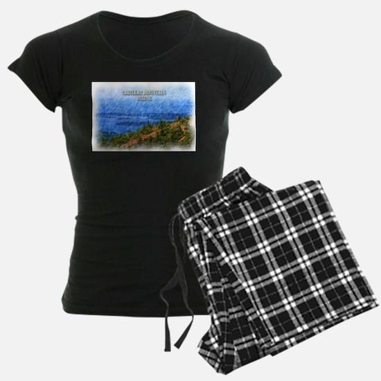 Cadillac Mountain, Maine Pajamas
