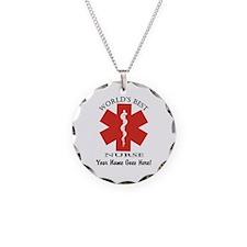 Worlds Best Nurse Necklace