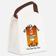 Worlds Best Chef Canvas Lunch Bag