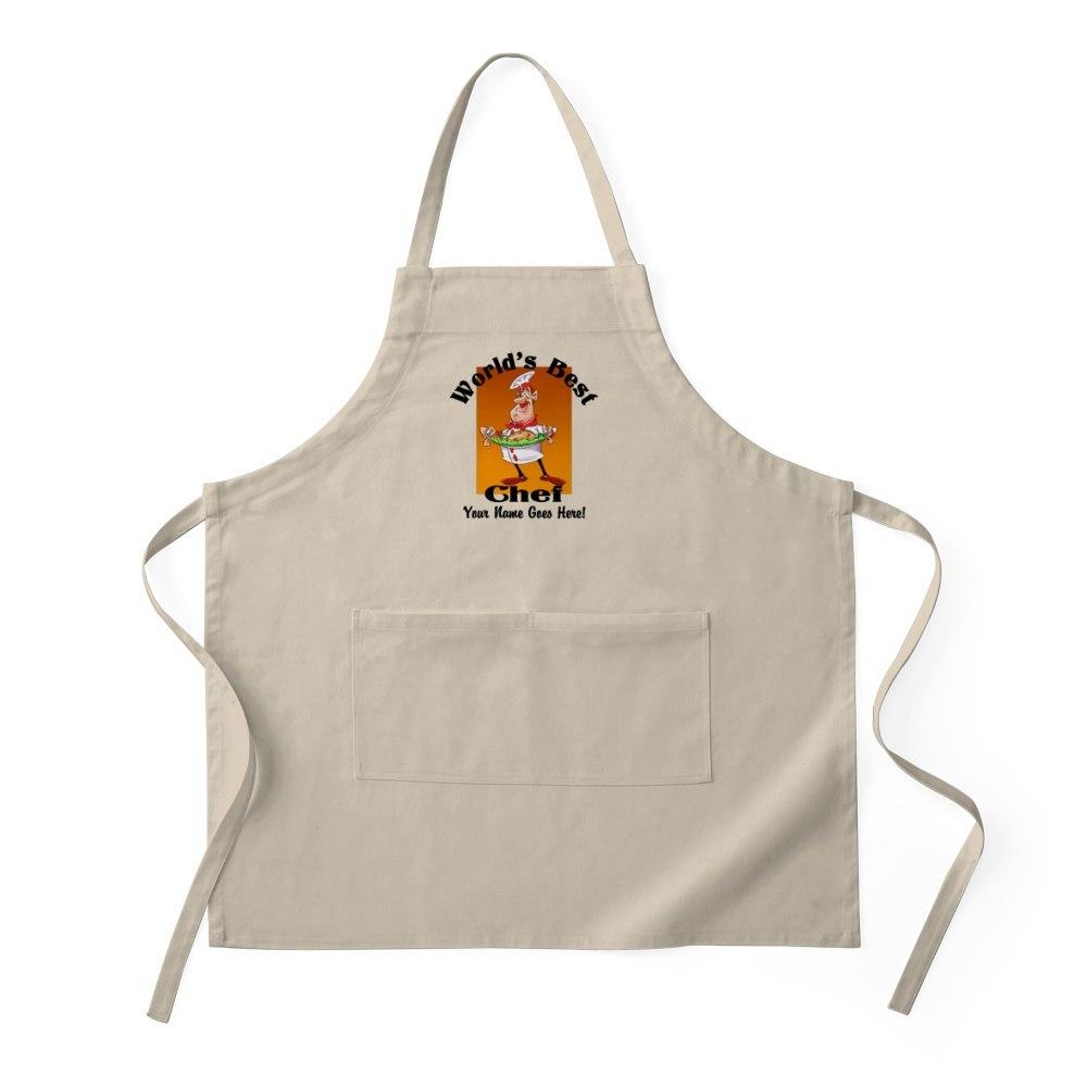 CafePress Worlds Best Chef Apron