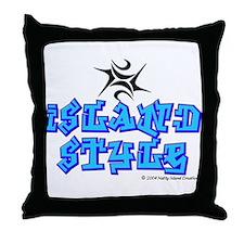 Island Style Throw Pillow