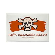 Halloween Matey Rectangle Magnet