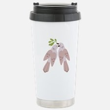 Two Turtle Doves Travel Mug
