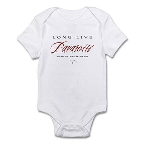 Pavarotti Infant Bodysuit