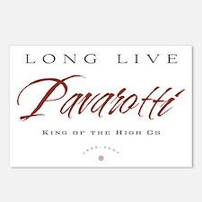 Pavarotti Postcards (Package of 8)
