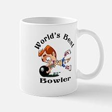 World's Best Bowler Mugs