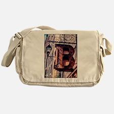 B is for ... Messenger Bag