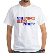 Never Apologize For Being Pat Shirt