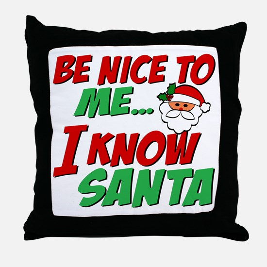 Know Throw Pillow