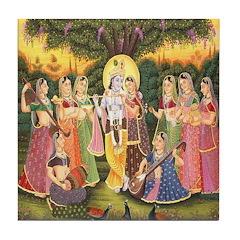 Divine Music Tile Coaster