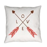 Arrow Burlap Pillows