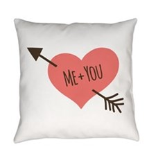 Me and You Everyday Pillow