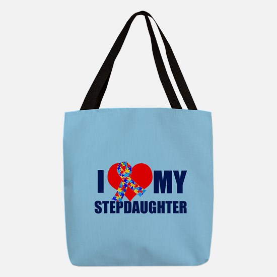 Autism Stepdaughter Polyester Tote Bag