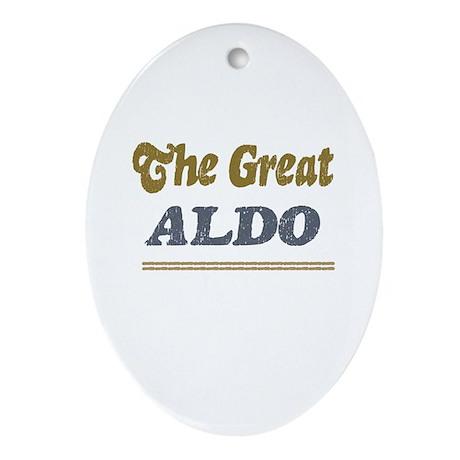 Aldo Oval Ornament