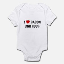 I * Bacon And Eggs Infant Bodysuit