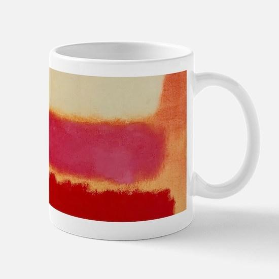 ROTHKO WHITE RED PINK Mugs