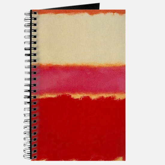 ROTHKO WHITE RED PINK Journal