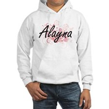 Alayna Artistic Name Design with Hoodie