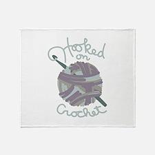 Hooked On Crochet Throw Blanket
