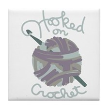 Hooked On Crochet Tile Coaster