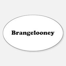 Brangelooney Oval Decal