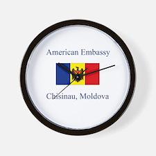 Moldova  Wall Clock