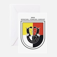 3rd Special Forces Group Greeting Cards