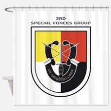 3rd Special Forces Group Shower Curtain