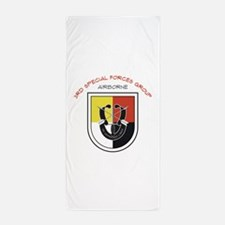 3rd Special Forces Airborne Beach Towel